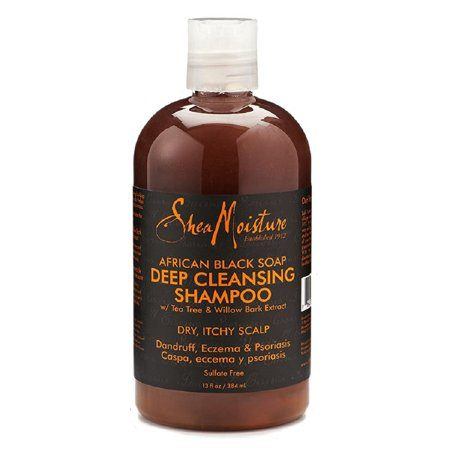 African Black Soap Cleansing Shampoo