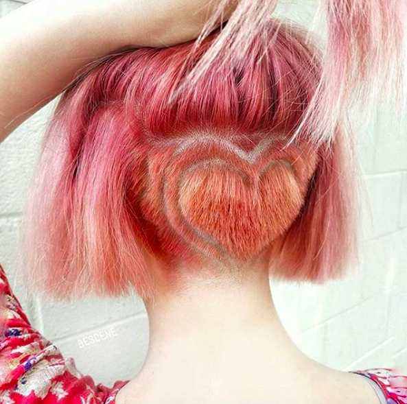 undercut bob hair ideas mane addicts bk hybrid pink hair