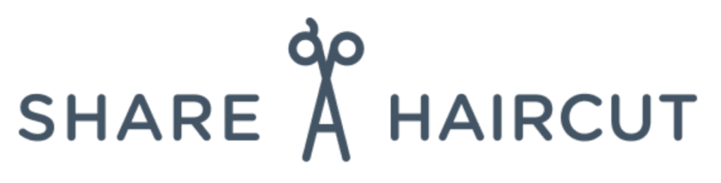 Share-a-haircut logo from website