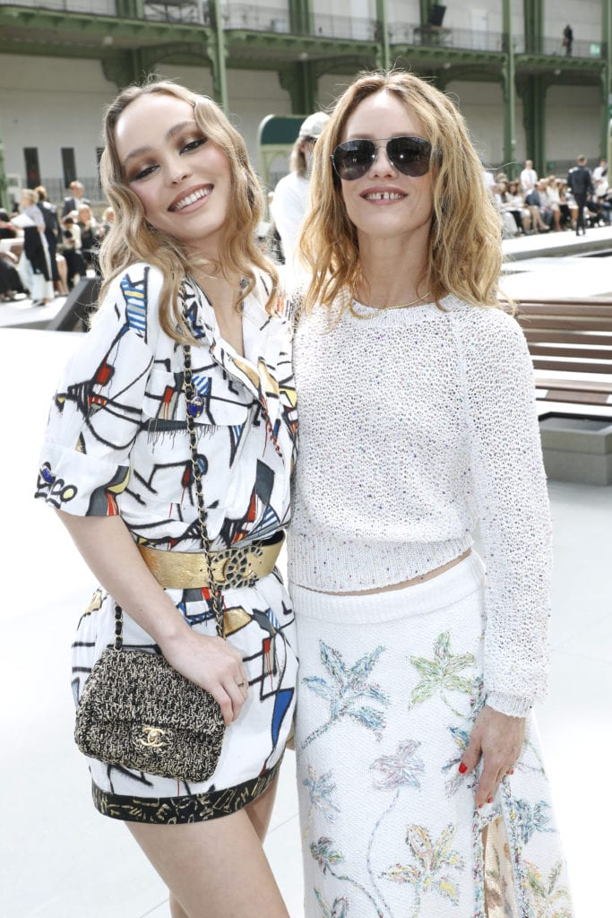 Chanel Cruise Collection 2020 : Front Row At Grand Palais In Paris